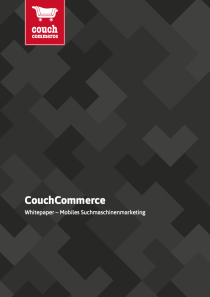 Kostenloser Download: CouchCommerce Whitepaper Mobiles Suchmaschinenmarketing